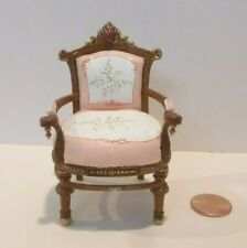 BESPAQ  EDWARDIAN CHAIR HAND PAINTED SEAT/BACKREST 3926PWT