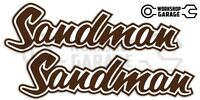 Holden HQ - HJ -  SANDMAN BROWN XX Large Decal  - Stickers
