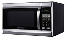 New Emerson MWG1337SB 1.3 CU. FT. 1000W Touch Control Stainless Steel Microwave