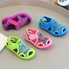 Summer Child Kids Baby Girls Boys Beach Non-slip Outdoor Sneakers Sandals Shoes