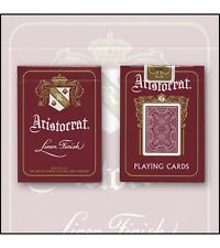 Bicycle Aristocrat 727 Bank Note Cards (Red) Deck by USPCC and Murphy's Magic