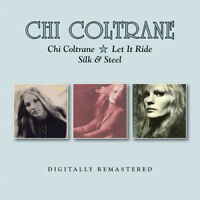 Chi Coltrane - Chi Coltrane / Let It Ride / Silk & Steel [New CD] UK - Import