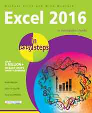 Excel 2016 in easy steps by Michael Price & Mike McGrath - NEW - Free P&P