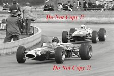 Graham Hill Lotus 48 Silverstone F2 Race 1967 Photograph 1