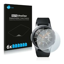 6x Samsung Galaxy Watch (46 mm) Displayschutzfolie Klar Transparent Schutzfolie