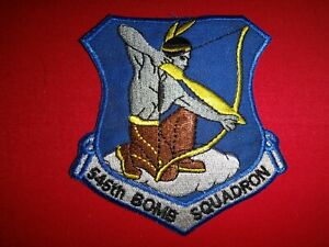 US Air Force 545th BOMB Squadron Patch (Inactive Bombardment Unit)