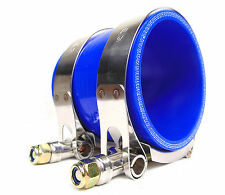 """2"""" (51MM ID)  SILICONE HOSE COUPLER with Clamps 70MM LONG Intercooler Induction"""