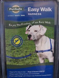 Pet Safe Easy Walk Harness Dog No Pull Medium Royal Blue/Navy