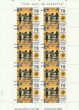 Nederland Postfris 1996 MNH V1678 vel - Tien voor uw Vakantie