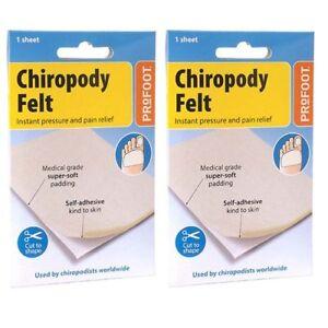 Profoot Chiropody Felt - 2 Packs