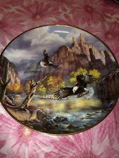"The Danbury Mint by Rudi Reichardt 8"" Decorative Eagle Plate 1994"