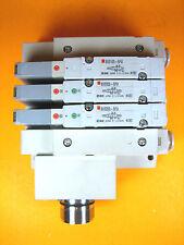 SMC -  Manifold w/ 3 Each SV2200-5FU