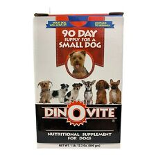 DINOVITE 90 Day Supply Nutritional Supplement for Small Dogs - 1lb Box - New