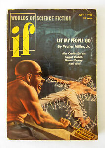 if - Worlds of Science Fiction July 1952 ~US edition ~ Walter Miller