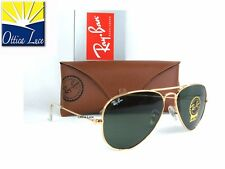 Ray Ban Aviator Large Metal 3025 W3234 calibro piccolo 55  Sunglass Sonnenbrille