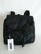 LeSportsac Womens Classic Small Edie Backpack Black