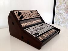 Double KORG VOLCA BASS Sample Beat KEYS 2 Tier stand custom made détient 2 volcas