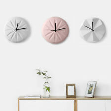 D259 Pink Nordic Style Living Room Mute Ceramic Originality Wall Clock 14 Inch A