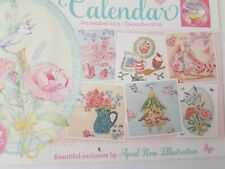 Cross stitch charts from World of Cross stitching April Rose Flowers Birds