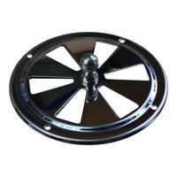 Round Stainless Steel Vent, 100mm Diameter, With Closing Action, Air Vent