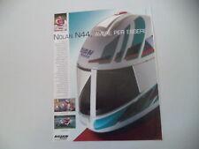 advertising Pubblicità 1991 CASCO HELMET NOLAN N44 e  SITO PONS/FRED MERKEL
