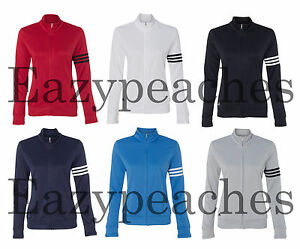 ADIDAS GOLF Ladies ClimaLite Sport 3-Stripes French Terry ZIP Womens Jacket