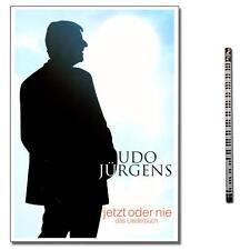 Udo Jürgens Jetzt oder nie - Songbook mit MusikBleistift - 9790204905010