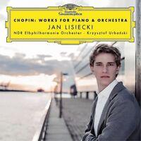 CHOPIN: WORKS FOR PIANO & ORCHESTRA - JAN LISIECKI/KRZYSZTOF URBANSKI/+ CD NEW!