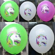 10pcs Animal Kids Unicorn Balloon Children Party Birthday Wedding Magical Decor
