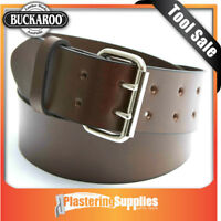 Buckaroo Leather 50mm Wide Full Grain Leather Belt AWB50