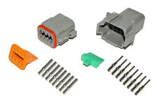 Deutsch DT 8 Pin Connector Kit 16-20 GA Solid Contacts