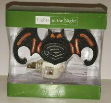 Seasons Midwest Cannon Falls Bat Night Light Halloween Electric Plug In Mcf