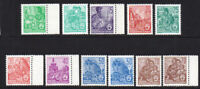 East Germany 11 Stamps 1957-60 Unmounted Mint Never Hinged (6991)