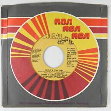 New Listing70s Soul 45 - James Walsh Gypsy Band - Cuz It's You Girl - Rca - Vg+ mp3 promo!