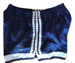 Pantaloncini corti da uomo Sportivi Adidas Shorts Nylon Shiny Glanz Vintage 80s