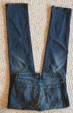 "Eddie Bauer Jeans Size 6 27.75"" W 33"" L Curvy Stretch Low Rs Straight GUC Denim"