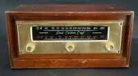Vintage Sonic Industries Custom Craft AM/FM Tuner Receiver