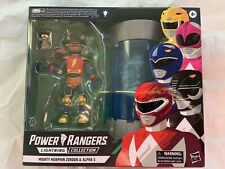 Alpha 5 & Zordon Walmart Exclusive Lightning Collection, MMPR Power Rangers