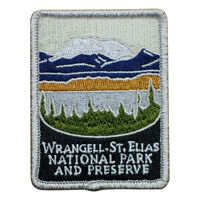 Wrangell – St. Elias National Park and Preserve Patch - Alaska (Iron on)