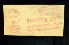 SONDERSTEMPEL-- München-- Die Stadt zum verweilen -- 1936 --