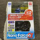 Infrared helicopter NANO-FALCON? nano Falcon alpha realistic Blue japan New