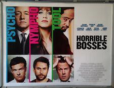 Cinema Poster: HORRIBLE BOSSES 2011 (Quad) Kevin Spacey Jason Bateman