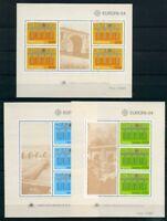 Portugal, Azoren, Madeira 3 CEPT Blöcke aus 1984 postfrisch MNH CEPT (OZ851