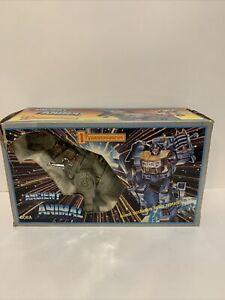 Transformers G1 dinobot GRIMLOCK in box KO Ancient Animal Complete
