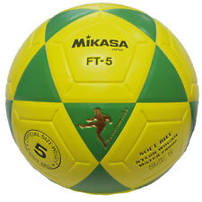 MIKASA FT5 Yellow/Green Goal Master Soccer Ball Size 5 Competition Game Ball