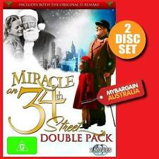MIRACLE ON 34TH STREET=NEW DVD=Double Pack=2 Disc=R4