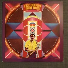 Lp Jazz - Eric Dolphy - Iron Man - Celluloid Usa