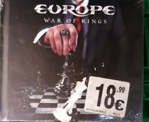 EUROPE WAR OF KINGS CD SPECIAL EDITION DIGIPAK NUOVO E SIGILLATO !!