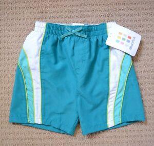 Boys Board Shorts Swimming Shorts -Size 2 - ABSORBA France - New + Tags