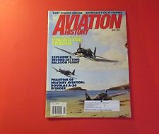 AVIATION HISTORY MAGAZINE MAY/1997..BRAWNY, BENT-WINGED BIRD: VOUGHT F4U CORSAIR